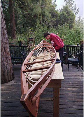 Griffin - building kayak2
